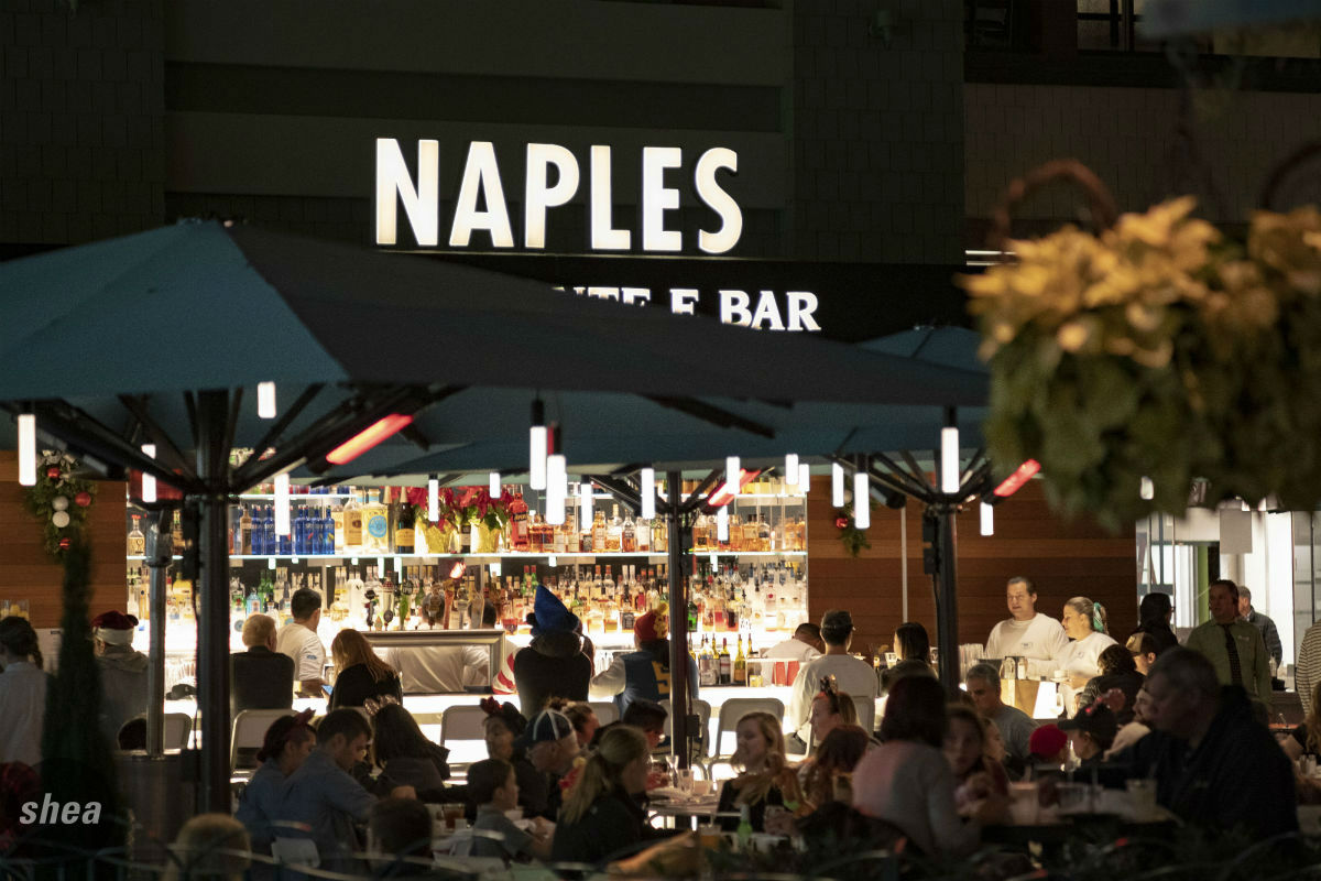 Dinner at Naples Ristorante e Pizzeria by Shea Design